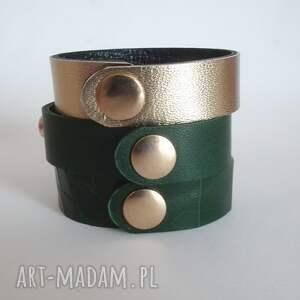 nity komplet trzech bransoletek - węższa wersja