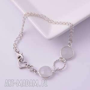 bransoletki srebrna księżycowy pył, bransoletka