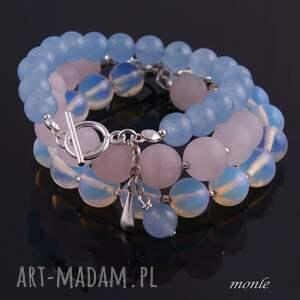 niebieskie bransoletki bransoletka laguna, błękitna