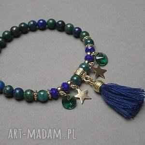 zielone bransoletki lazuli lapis /gypsy/ vol. 2 - bransoletka