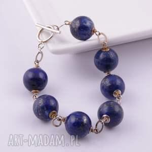 ręcznie robione bransoletki lapis lazuli-bransoletka