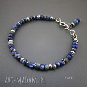 lapis lazuli z przekładkami