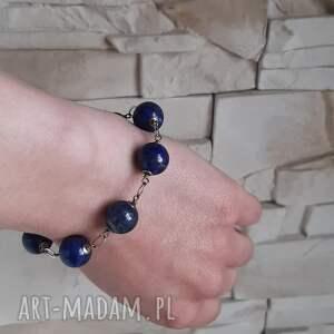 lazuli bransoletki niebieskie lapis lazuli-bransoletka