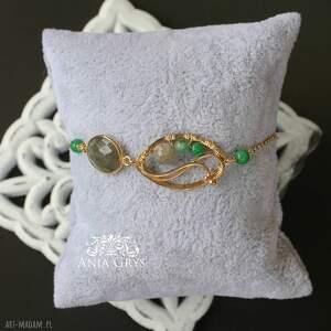 bransoletka zielone letnie wibracje