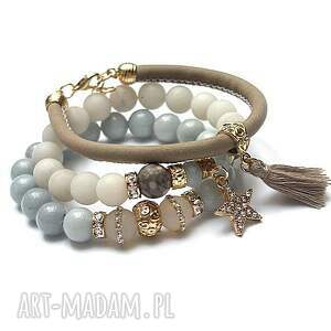 handmade bransoletki jadeity light pastel colours vol. 10 /06