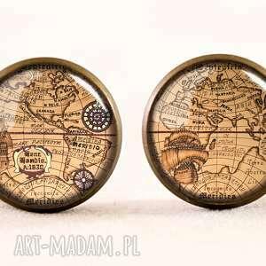 bransoletka bransoletki brązowe mapa świata