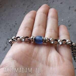 łańcuszkowa bransoletki masywna bransoleta - srebro 925