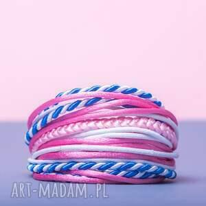 różowe sznureczkowa whw mini mess - hard candy