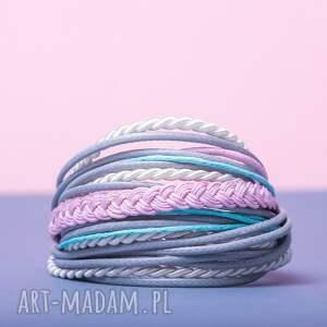 różowe sznureczkowa whw mini mess - dynamic dance
