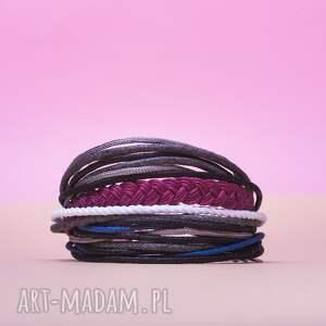 sznurkowa mini mess to efektowne sznurkowe bransoletki