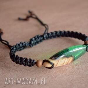 dla niego mitali - bransoletka z drewnem