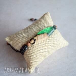 Sirius92 brązowe bransoletka na prezent mitali - z drewnem