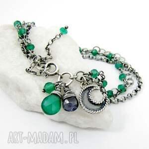 zielone łańcuszki moc łańcuszków z księżycem