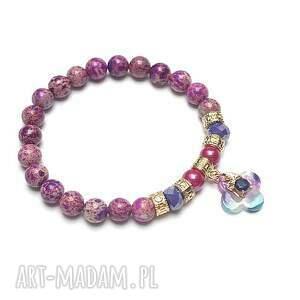 ręcznie robione mosaic purple /26 -07