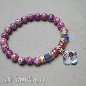 jaspis cesarski różowe mosaic purple /26 -07