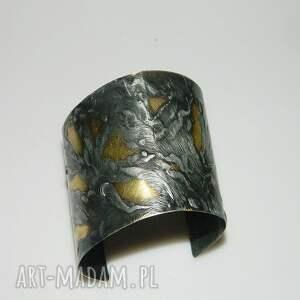 srebrne bransoletka mosiężna