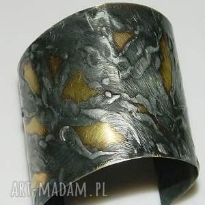 unikalna biżuteria mosiężna bransoletka