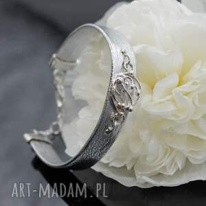 frapujące bransoletki bransoletka mystee - srebrna