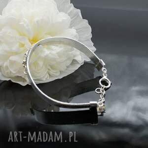 frapujące bransoletki bransoleta mystee - srebrna bransoletka