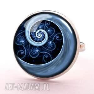bransoletki niebieska spirala - bransoletka