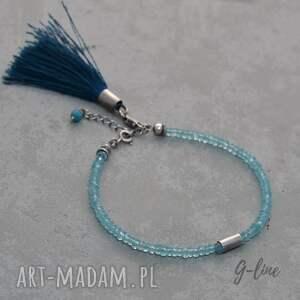 turkusowe niebieski apatyt z chwostem
