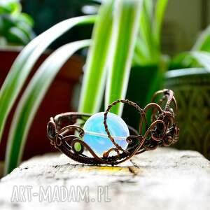 efektowne opalove - bransoletka z opalitem