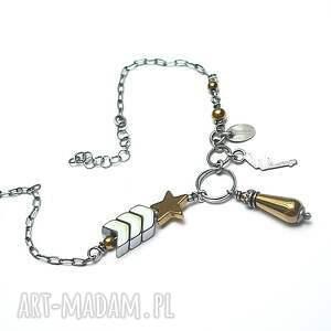 ręcznie zrobione bransoletki srebro pagony vol. 2 - bransoletka