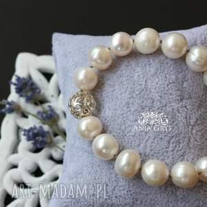 beżowe ślub pani perła
