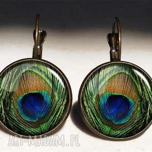 paw bransoletki zielone pawie oko - bransoletka