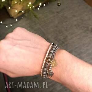 urokliwe bransoletki perły perełki
