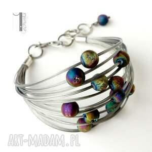 bransoletki srebro planety - srebrna bransoleta