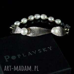 handmade bransoletki bransoletka poplavsky perłowa