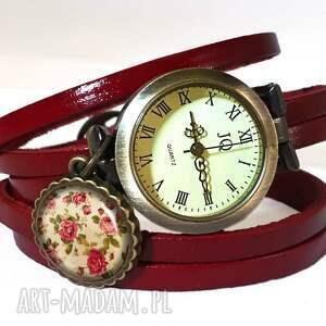 handmade bransoletki retro róże - bransoletka