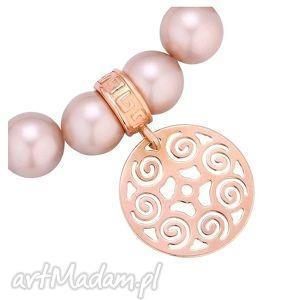 bransoletka pudrowa perły