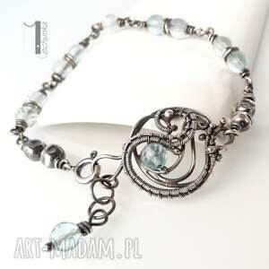 szare bransoletki srebro rime i - srebrna bransoleta