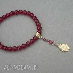 czerwone bransoletki kamienie santa vol. 9 /ruby/ 12.07.18