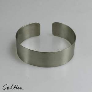 handmade metalowa satyna ii - bransoleta