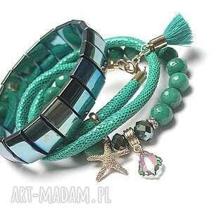 wyjątkowe bransoletki jadeity sea vol. 15 /10.05.17/ set