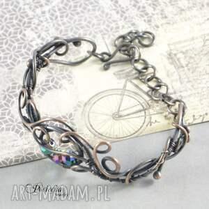 oryginalne bransoletki branoletka spark - bransoletka z pięknymi