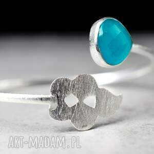 handmade bransoletki kamień 925 srebrna bransoletka orient