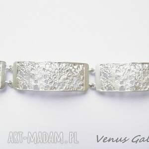 bransoletki srebro srebrna bransoletka - delicate