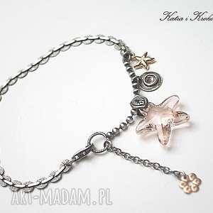 niepowtarzalne srebro starfish