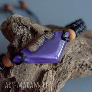 Sirius92 makrama suvali - bransoletka z drewna