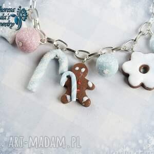 pomysł na prezenty święta świąteczna bransoletka cukierki