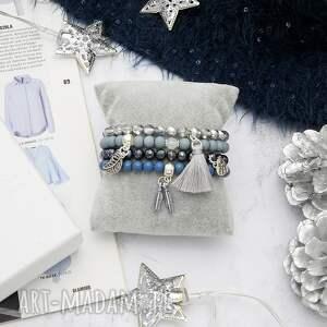 niebieskie bransoletki zestawy-bransoletek zestaw bransoletek - for me,