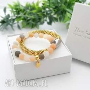 intrygujące bransoletki piękne-bransoletki zestaw bransoletek elegance set