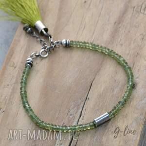 bransoletki apatyt zielony z chwostem
