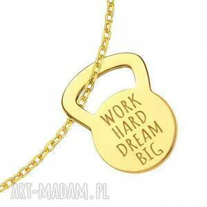 trendy bransoletki modna złota bransoletka kettlebell work