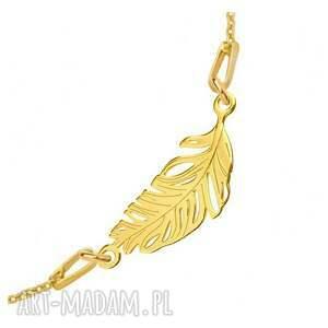 eleganckie modny złota bransoletka