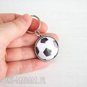 czarne breloki klucze breloczek do kluczy - piłka